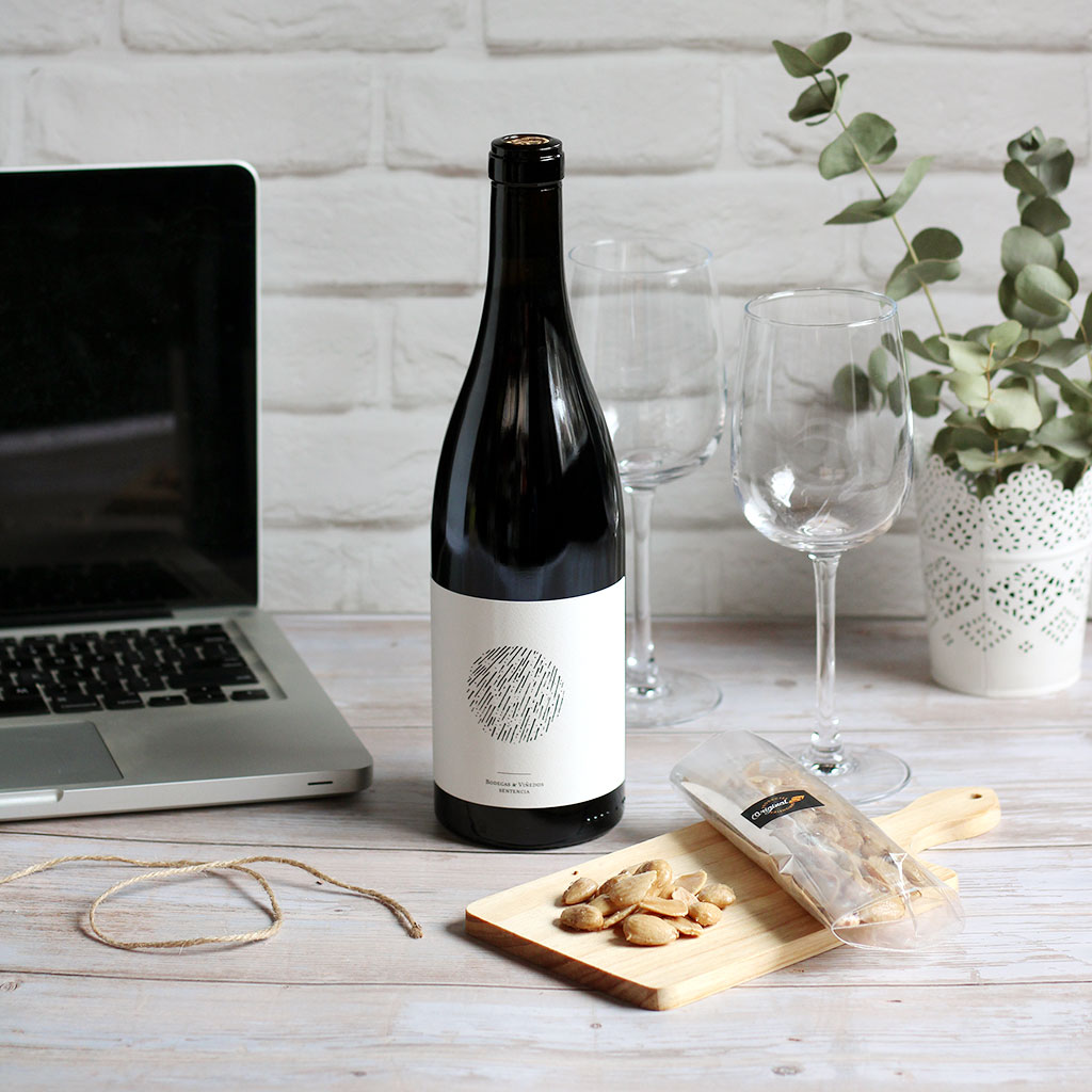 Cata virtual Vino Lluvia