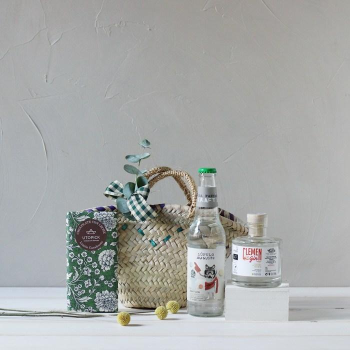 Mini Capazo Momento Gin OCV