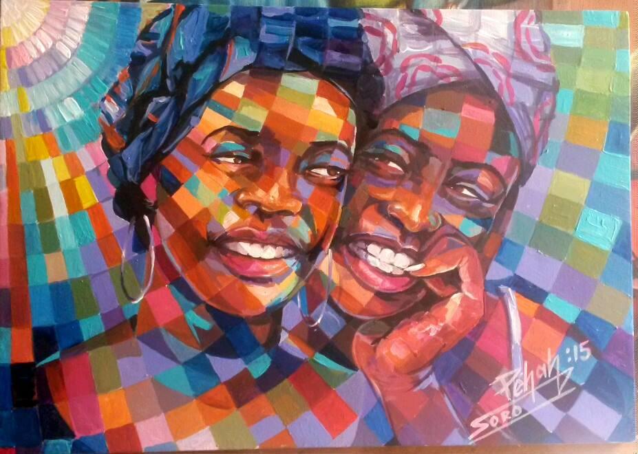 SORO Péhah Jacques - Artiste Peintre