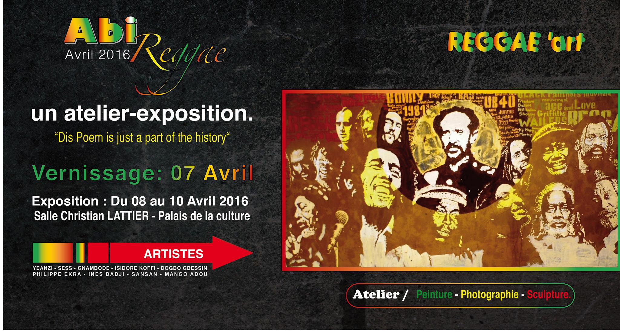 AbiReggae Art – Exposition d'arts visuels consacrée au Reggae et à la culture Rastafari