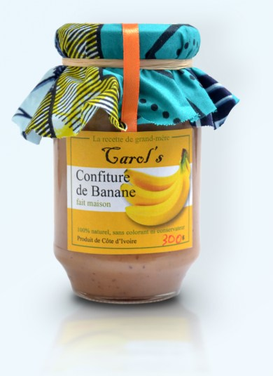 carols confiture banane