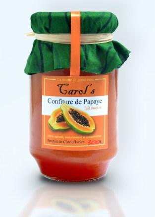carols confiture papaye