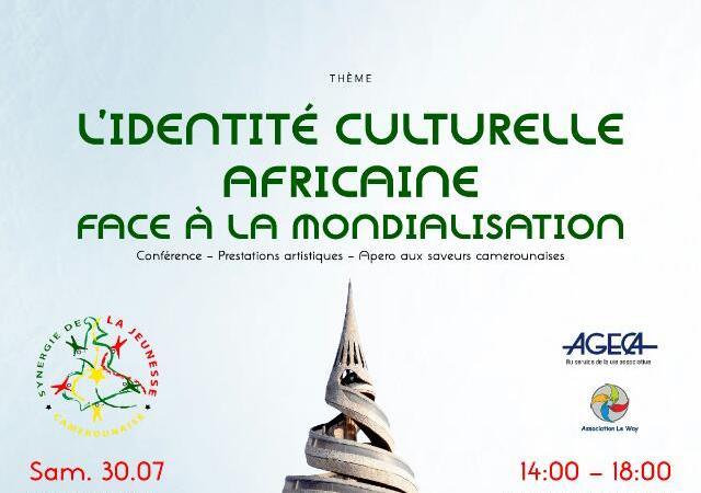 La conférence débat sur l'Identité Culturelle Africaine face à la Mondialisation