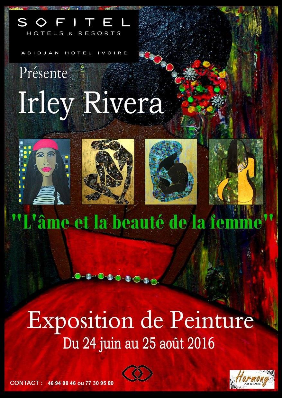 Dernier jour pour apprécier l'Exposition de Irley Rivera à Abidjan