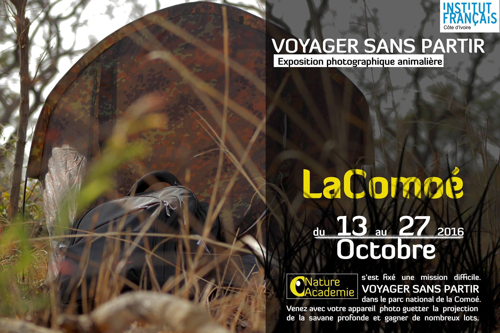 «Voyager sans partir» Exposition photographique animalière sur La Comoé