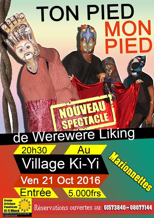 Ton Pied Mon Pied, le nouveau spectacle de marionnettes de Wêrê-Wêrê Liking