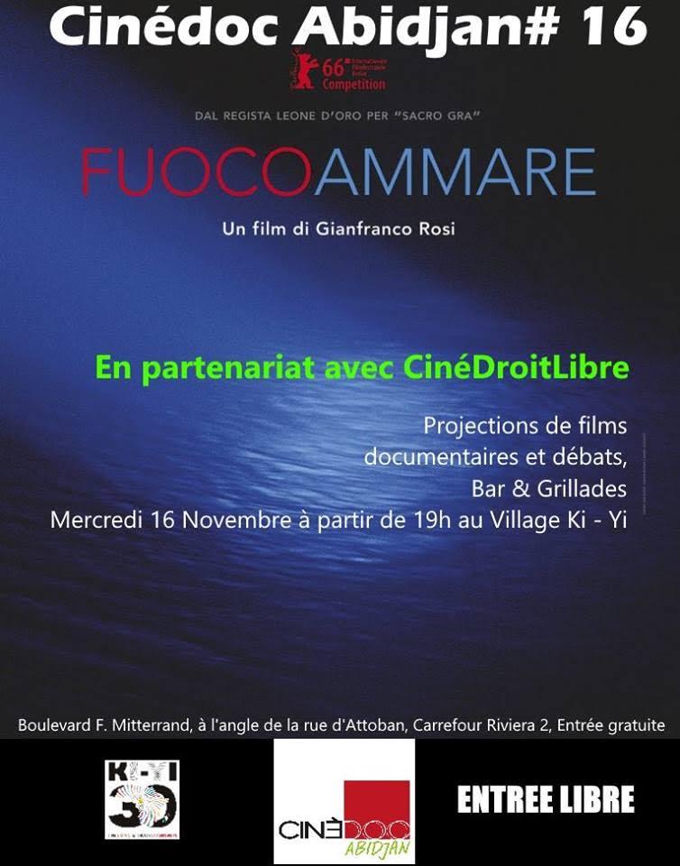 CineDoc#16 présente «Fuocoammare, par de-là Lempadusa» un film sur l'immigration clandestine
