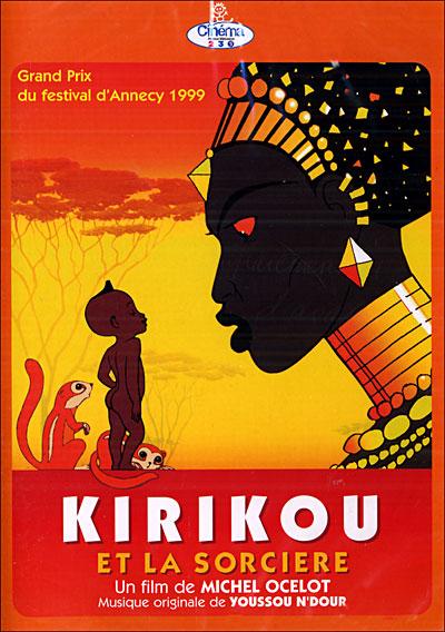 Kirikou et la Sorcière en projection à l'IFCI ce samedi 14 janvier 2017