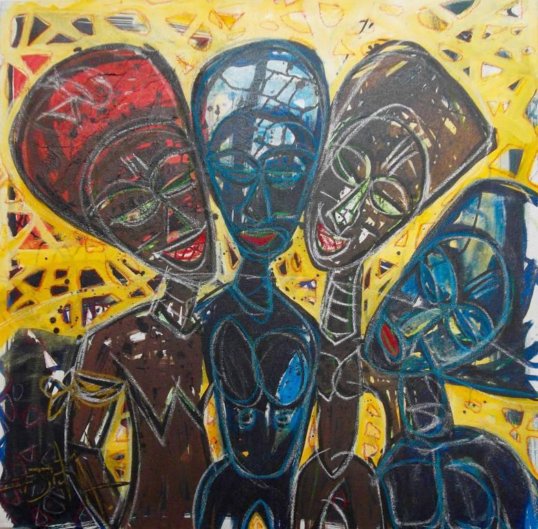 Découvrez l'artiste ivoirien Djeka Kouadio Jean-Baptiste qui exposera très prochainement à la Galerie Houkami Guyzagn