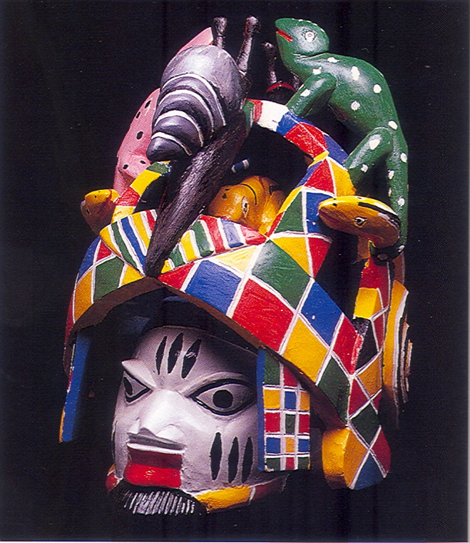 Les masques Guèlèdè du Bénin- source : internet