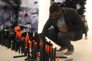 Exposition 'Projections' de Yeanzi jusuq'au 13 mai à la Galerie Cécile Fakhoury
