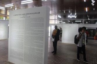 Vernissage des œuvres en concours à la BNCI - Jeux de la Francophonie Abidjan 2017