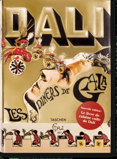 Hybrid, e-gift shop - Les dîners de Gala de Dali - Editions TASCHEN