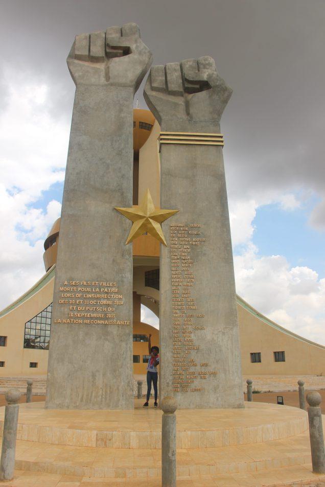 Le Monument des héros nationaux devenu le Panthéon des martyrs de la révolution - Ouagadougou - Burkina Faso