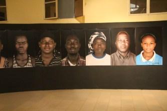 "Exposition ""Face à Face"" de Alain Leloup - Musée National du Burkina Faso - Ouagadougou"