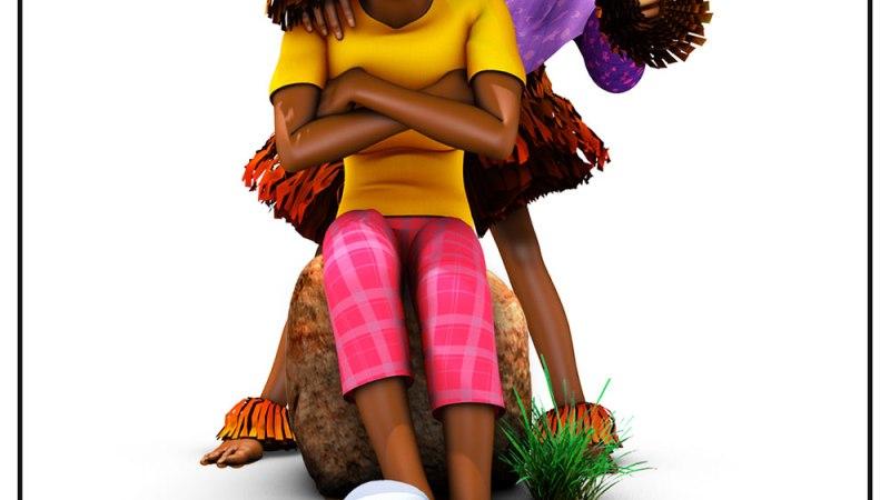 Projection gratuite de «Wé, le Masque Mendiant» de Afrikatoon durant le Marché de Noël nocturne Djinamory #2