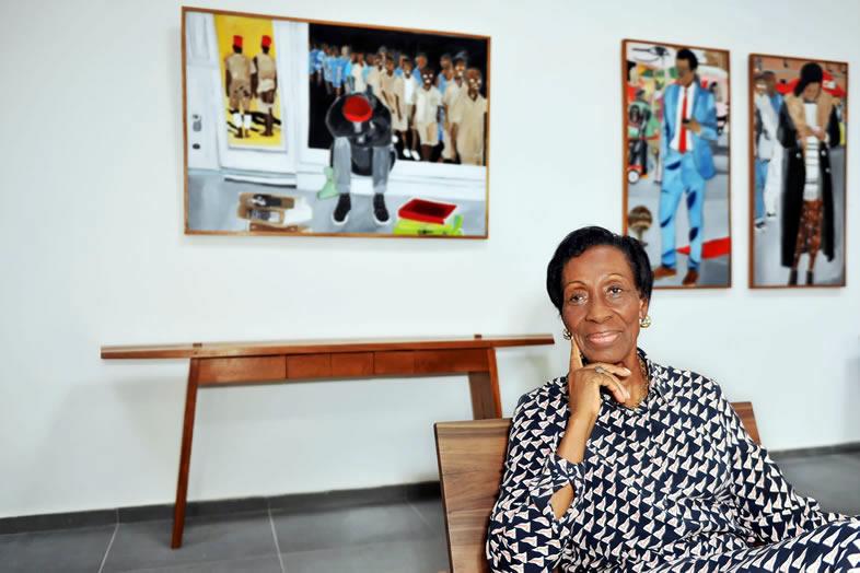 Simone Guirandou N'Diaye: portrait of a promoter of contemporary arts