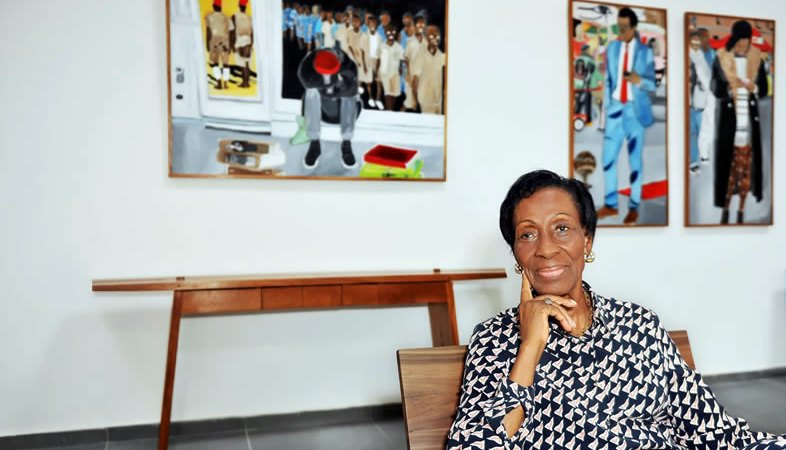 Simone Guirandou N'Diaye: portrait of a promoter of contemporary arts