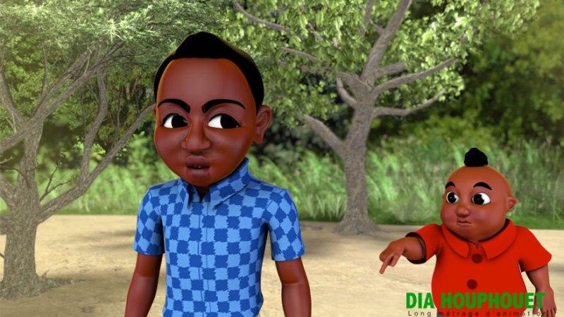 #25 ans FHB  – Houphouet Dia, film d'animation qui raconte l'enfance de Felix Houphouët Boigny
