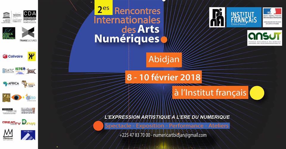 #RIANA2018 – Une plateforme d'expression artistique à l'ère numérique