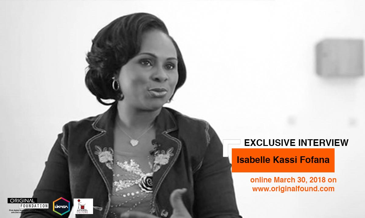 Isabelle Kassi Fofana, more than 20 years for the promotion of the book