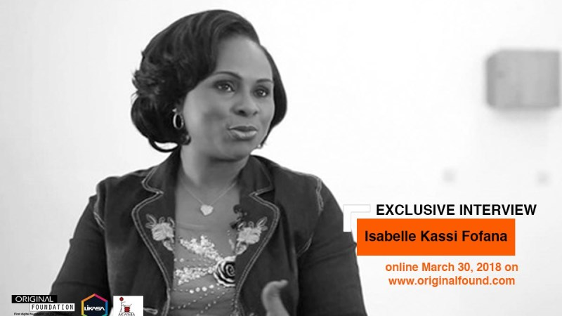 Prix Ivoire, for the African Literature of Francophone Expression, a price highlighted by Isabelle Kassi Fofana