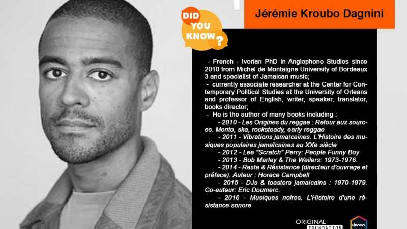 Did you know? : Let's discover Jérémie Kroubo Dagnini
