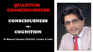 Consciousness verses Cognition