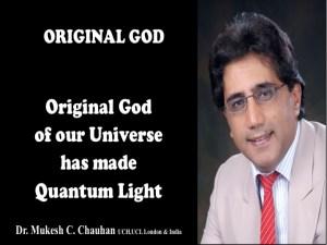 Original God has made consciousness