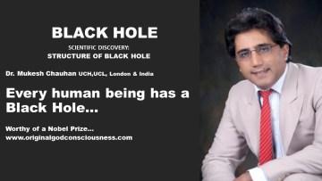 Black Hole - every human being has a black hole