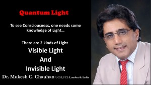 Greatness of Original God- visible and invisible light