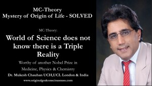 World of science does not understand triple reality