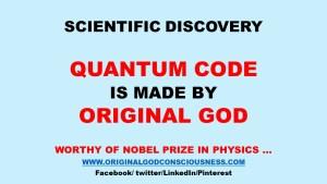 Quantum Code is made by Original God