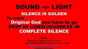 Original God and silence