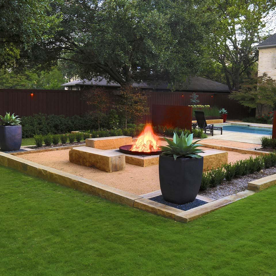 http originallandscapeconcepts com fire bowl garden html