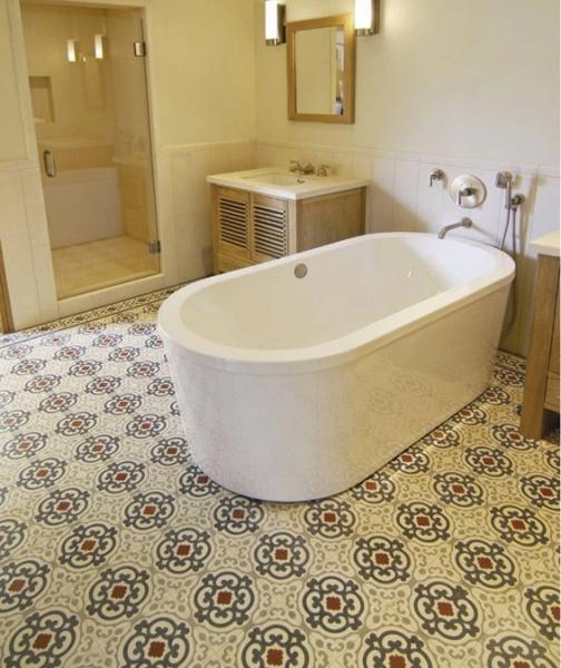 Cement Tiles Bathrooms
