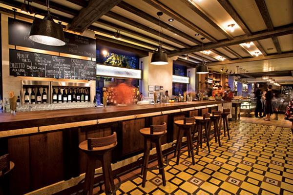 Cement Tiles Maialino Restaurant