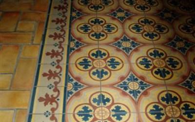 Cement Tiles Roosevelt Hotel