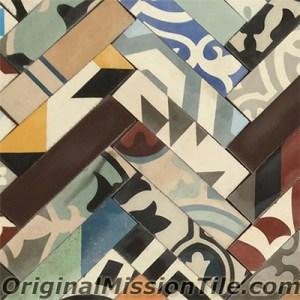 patchwork cement tiles