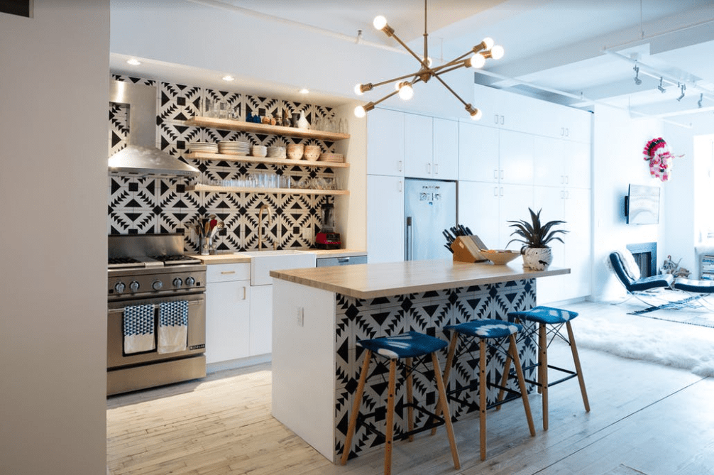10 creative Patchwork Tile Backsplash ideas for kitchen
