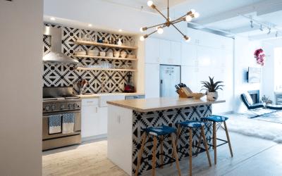 10 creative Patchwork Tile Backsplash ideas for kitchen