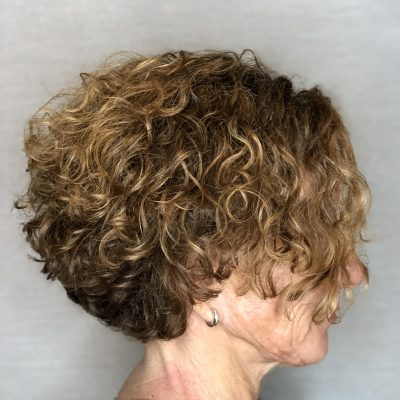 Curly Hair Layers