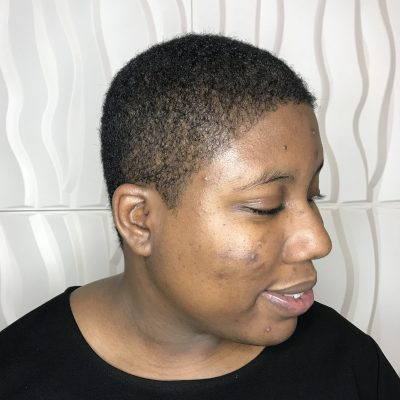 Big Chop Natural Hair Cut