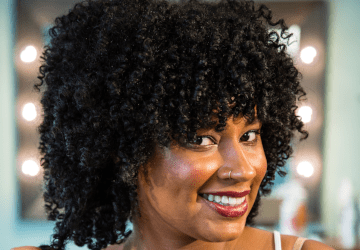 Our curly hair cut, the Moxie Method, works on all hair types and is personalized for each unique texture.