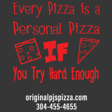 T-Shirt Original Pjs Pizza - Every Pizza is Personal