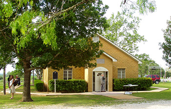 Bethel Primitive Baptist Church in McMahon, TX—site of the Southwest Texas Convention.