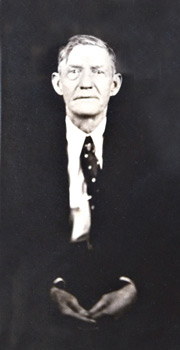 Thomas Jackson Denson, around the time of his last birthday, January 1935. Photograph courtesy of Michael Hinton.