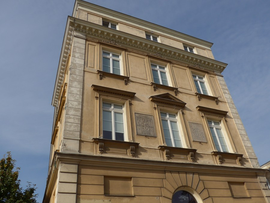 Chopin House, Warsaw. Photograph by Kathy Williams.