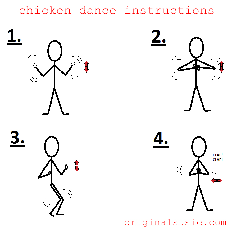 huMp day chicken dance instructions!