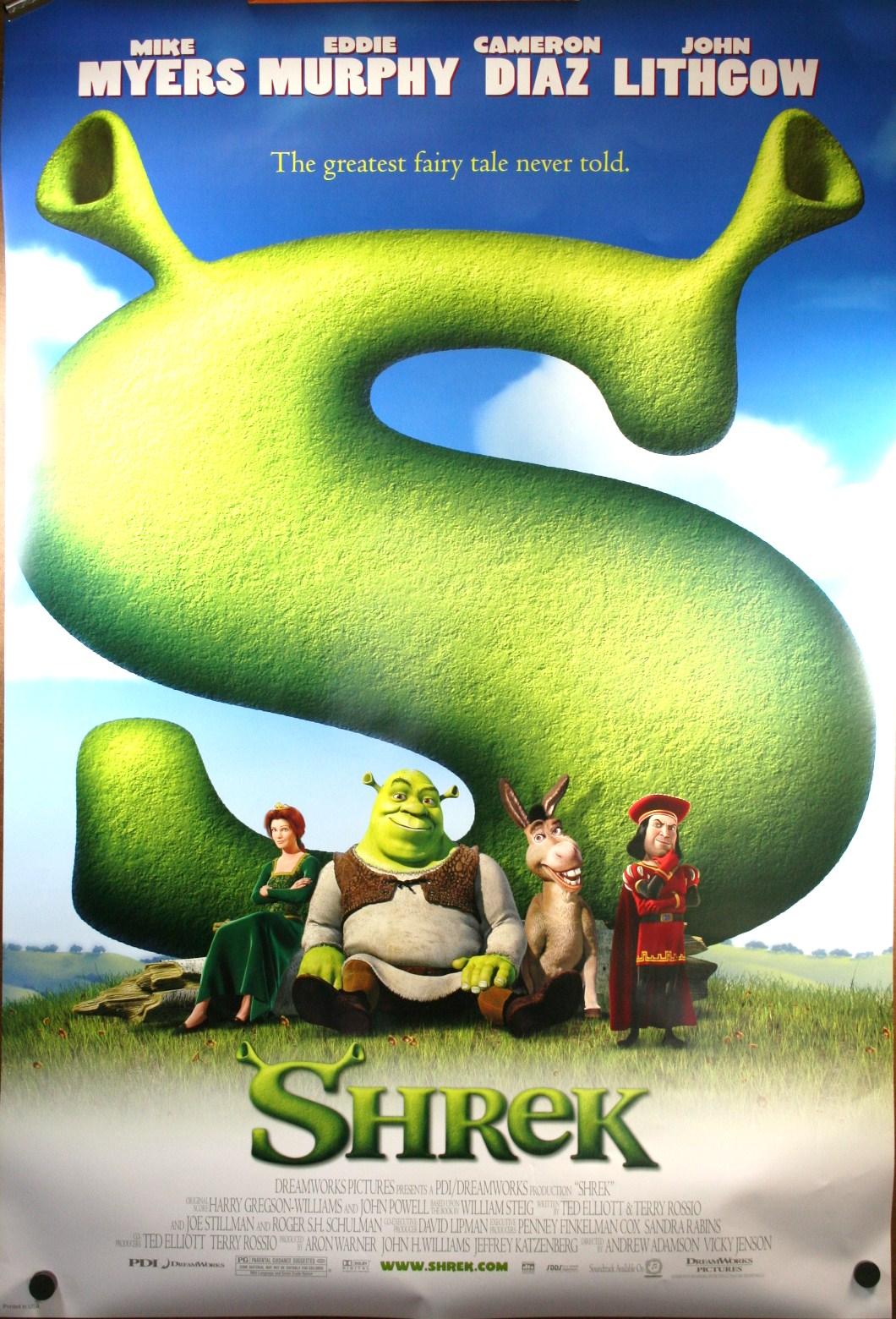 Shrek (2001) – joel watches movies